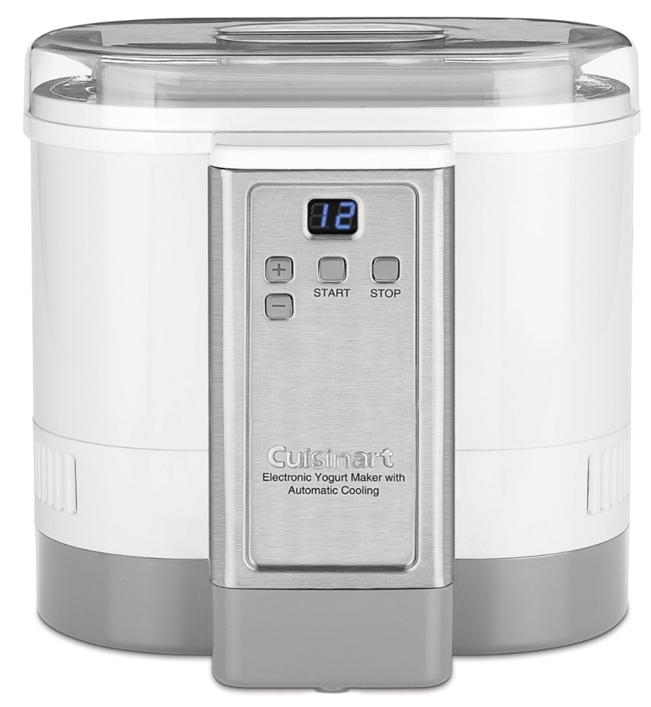 Cuisinart CYM-100 electric yogurt maker machine with automatic cooling