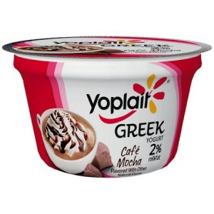 yoplait greek cafe mocha yogurt